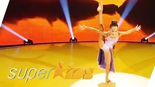 11yrs old girl from USA does stunning contemporary dance | Superkids