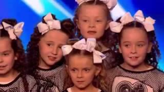 Little girls Dance crew in Britain's Got Talent 2017