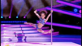 9yrs old Ukrainian Pole Dancer Emily Moskalenko | Superkids