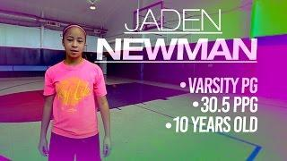 10-Year-Old Jaden Newman Wants to Be 1st Woman in NBA